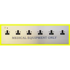 Swift Alm Hospital Socket Outlet Plates