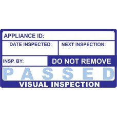 500 Swift 060 PASS Visual Inspection Labels