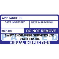 500 Swift 060P Passed Visual Inspection Labels