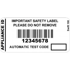 250 Swift 100 Serial Barcode Labels