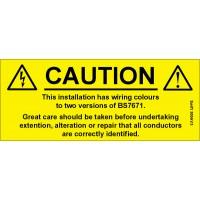 100 Swift 300AV3 Caution Harmonised Cables Labels
