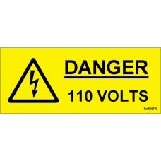 100 Swift 360V3 Danger 110 Volts Labels