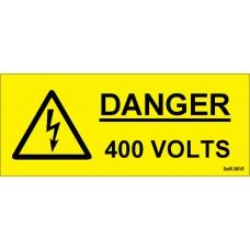 100 Swift 380V3 Danger 400 Volts Labels