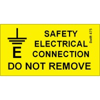 207 Swift 475 Earth Safety Connection Labels
