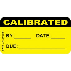 250 Swift CAL5025BY Calibrated Labels