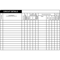 25 Swift CD1510 (25) Circuit Details Label