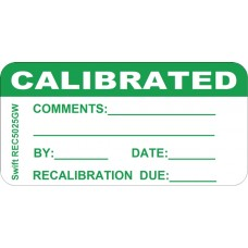 250 Swift REC5025GW Calibrated Labels