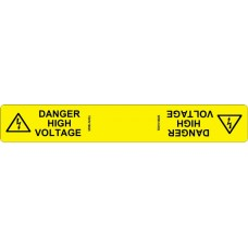 102 Swift TDHV18025 DANGER HIGH VOLTAGE Cable Wrap Labels